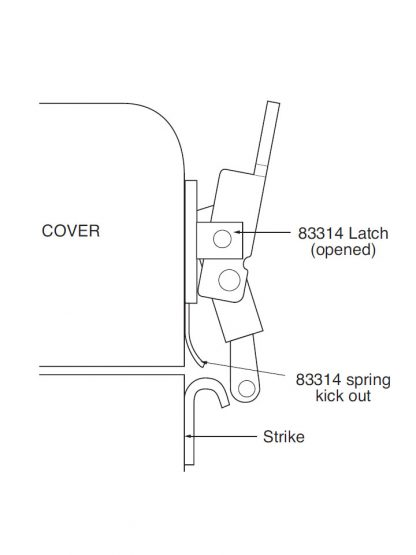 SR83314 Kick-Out Spring