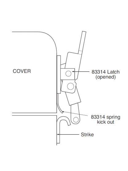 SR83314 Kick-Out Spring