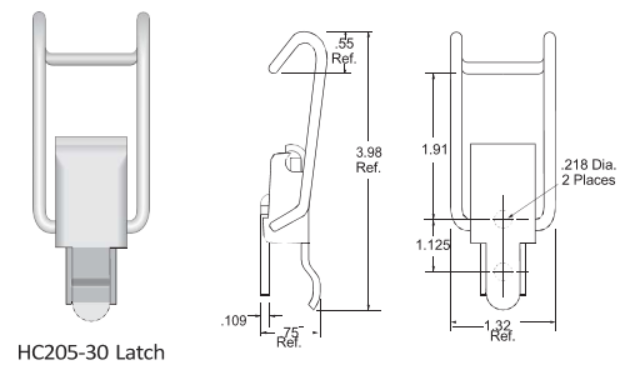 205-30 Series Latch