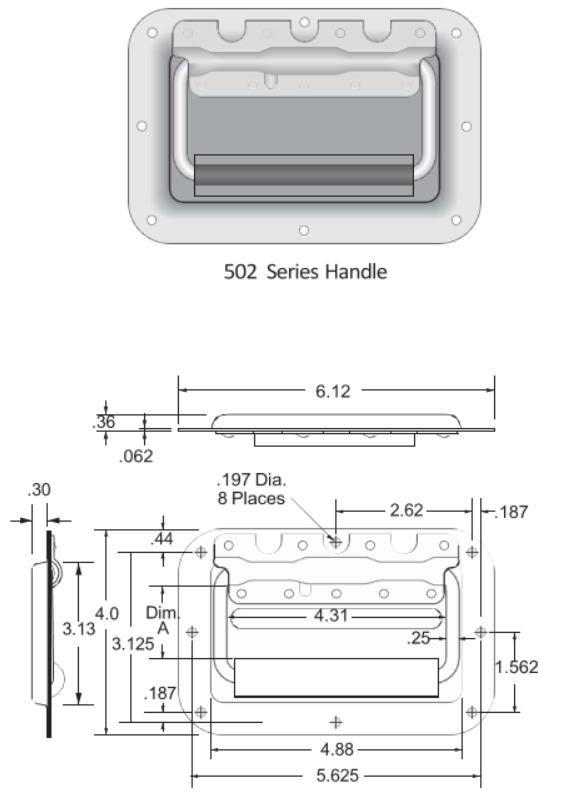 502 Series Handle