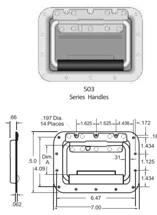 503 Series Handle