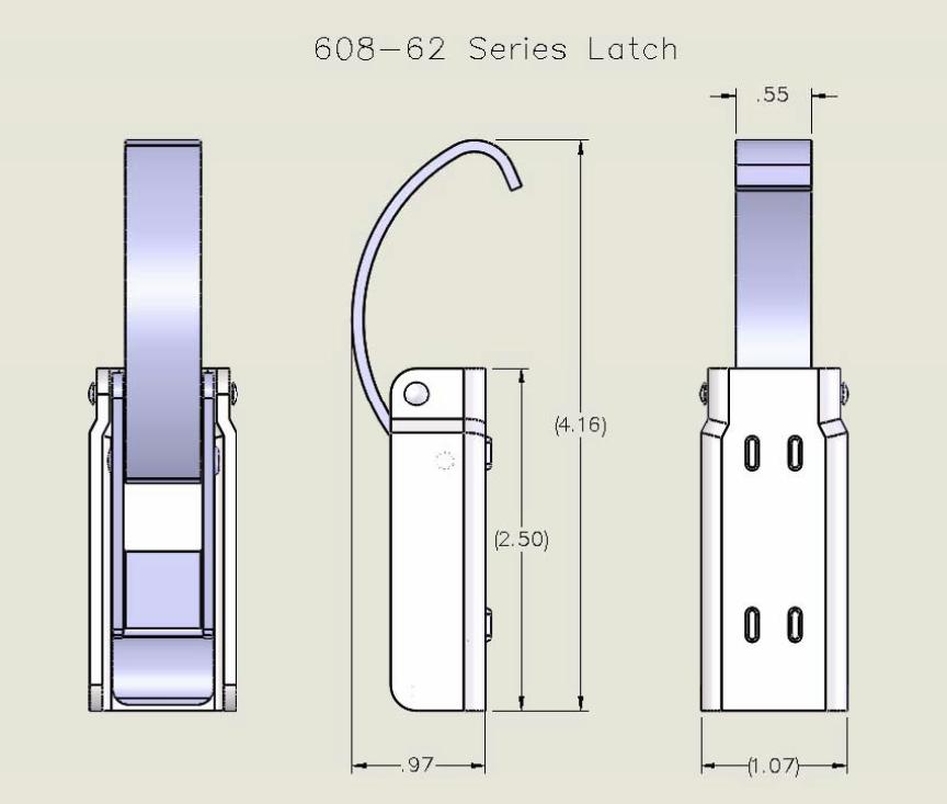 608-62 Series Latch