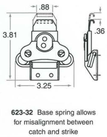 623-32 Base Spring Catch