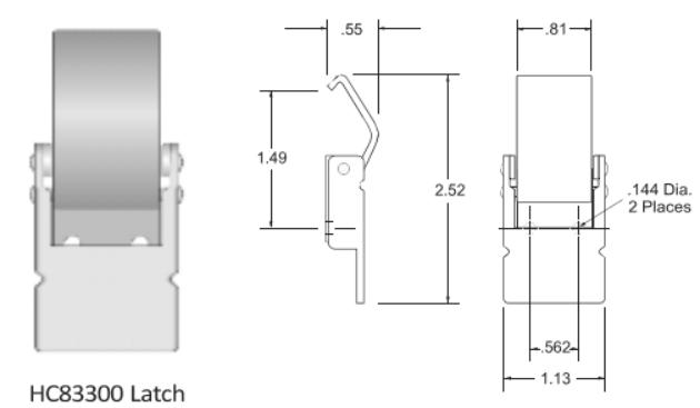 83300 Series Latch