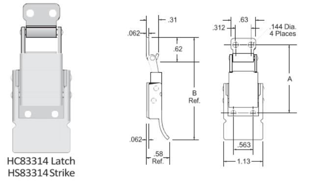 83314-2 Series Latch-2