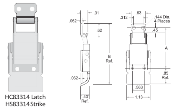 83314 Series Latch