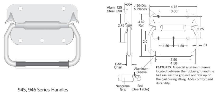 945-946 Series Handle