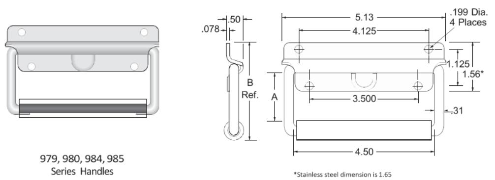979-980-984-985 Series Handle