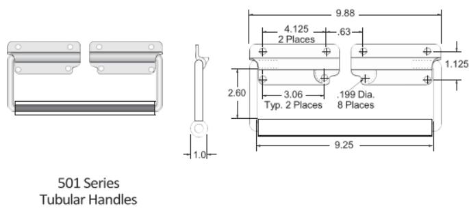 980-1303 Series Handle