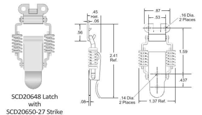SCD20648 Series Latch
